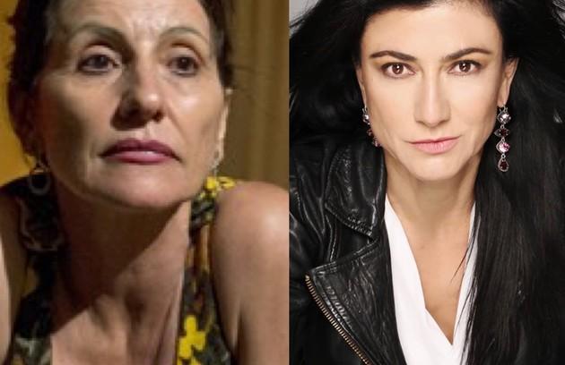 A mãe do protagonista, Carolina (Cássia Kis), passou a se chamar Dolores e é vivida pela atriz Leticia Huijara (Foto: TV Globo - Reprodução/Instagram)