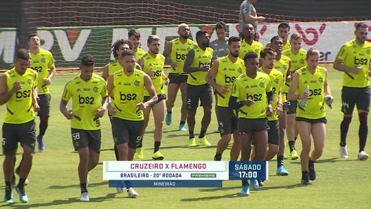 Jorge Jesus terá todos os jogadores à disposição para o jogo do Flamengo contra o Cruzeiro