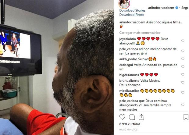 Arlindo Cruz (Foto: Reprodução/Instagram)