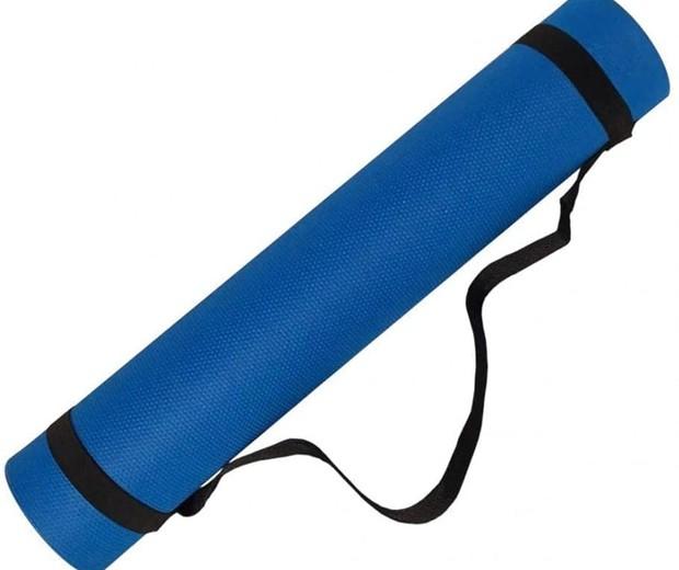Tapete pode ser indicado para prática de yoga ou pilates (Foto: Foto: Divulgação/Evamax)