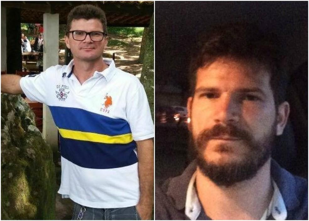 Tio e sobrinho morreram em colisão com ônibus em Ubajara, no interior do Ceará (Foto: Arquivo pessoal)