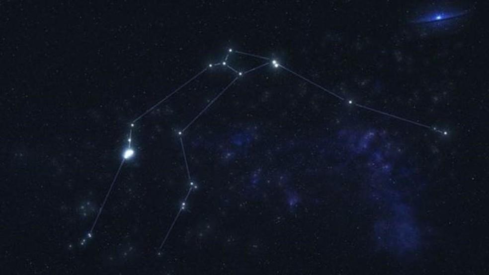 O planeta está 'escondido' na constelação de Aquário, a cerca de 202 anos-luz de distância — Foto: Getty Images via BBC