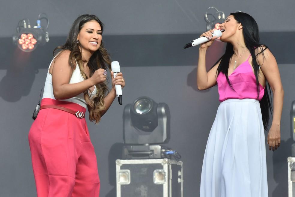 Simone e Simaria: primeira atração deste sábado no Festival de Verão Salvador (Foto: Max Haack/Ag Haack)