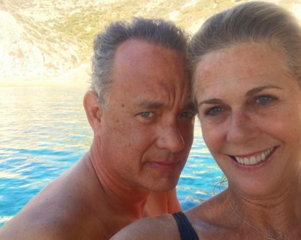 Tom Hanks e Rita Wilson (Foto: Reprodução Instagram)