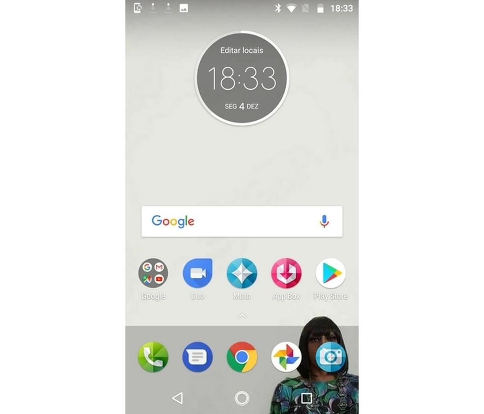 Novo celular Android com apps, arquivos e configurações importadas de aparelho antigo (Foto: Reprodução/Raquel Freire)