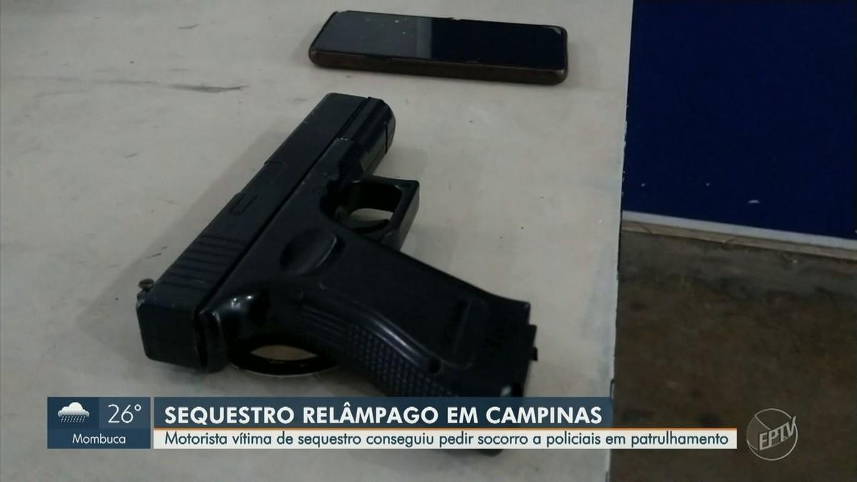 Vítima de sequestro-relâmpago consegue pedir ajuda à PM e criminoso é preso em Campinas