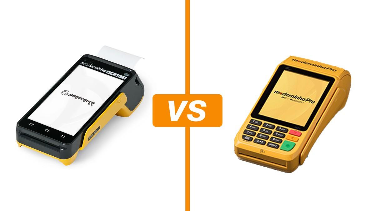 2cea35f14772 Moderninha Smart vs Pro: veja taxas e bandeiras das maquininhas do  PagSeguro   Máquinas de cartão   TechTudo