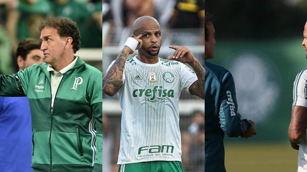 O que deve ocorrer após a polêmica envolvendo Cuca e Felipe Melo no Palmeiras?