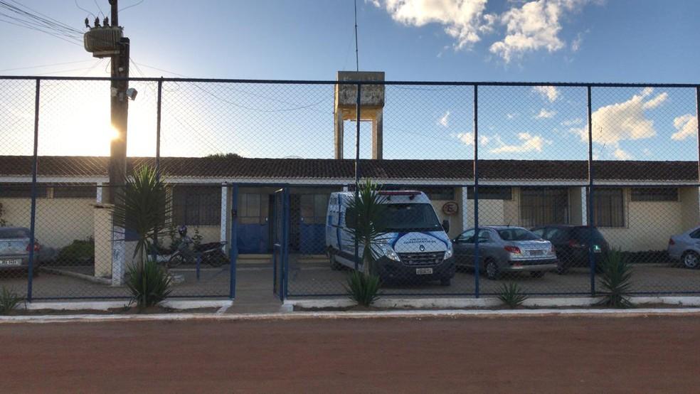 Detento foi encontrado morto na manhã de quarta-feira (17), no Conjunto Penal de Vitória da Conquista.  — Foto: Seap / Divulgação