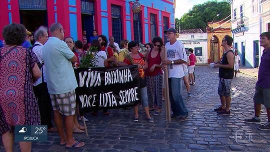 Ato homenageia arquiteta assassinada e cobra segurança no Sítio Histórico de Olinda