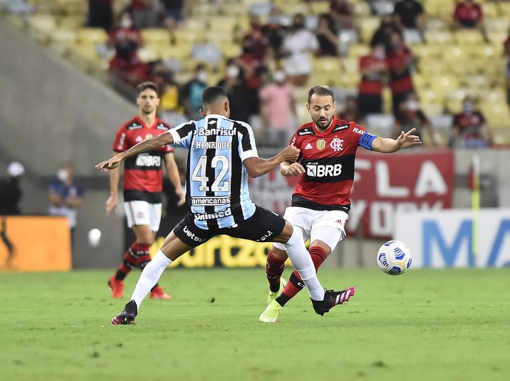 Everton Ribeiro em Flamengo x Grêmio, pela Copa do Brasil — Foto: André Durão