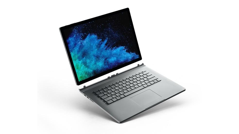 Surface Book tem estrutura reforçada que fixa tela à base com teclado � Foto: Divulgação/Microsoft