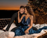 Paula Amorim e Breno Simões contam planos de noivado