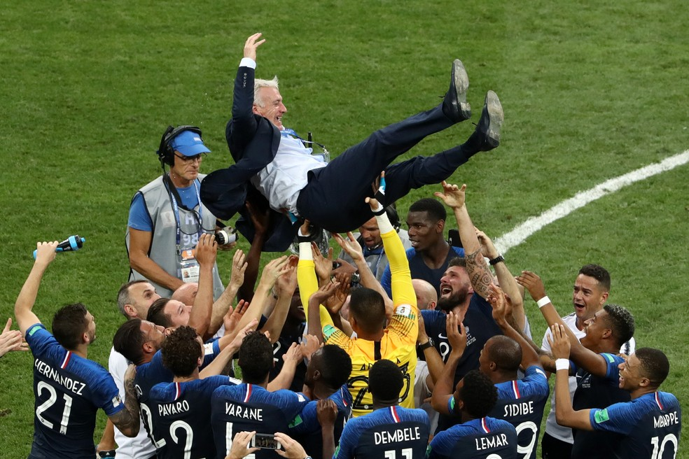 Didier Deschamps, técnico da França (Foto: Getty Image)