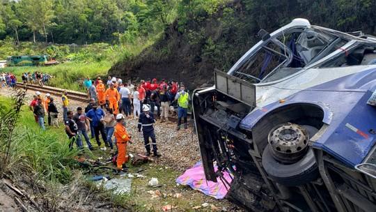 Foto: (Corpo de Bombeiros de MG/Divulgação via AFP)