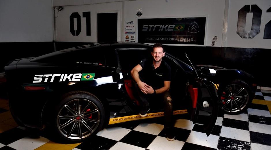 Markus Deimling, fundador da Strike Brasil. (Foto: Divulgação)