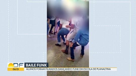 Alunos são filmados dançando funk em escola de Planaltina