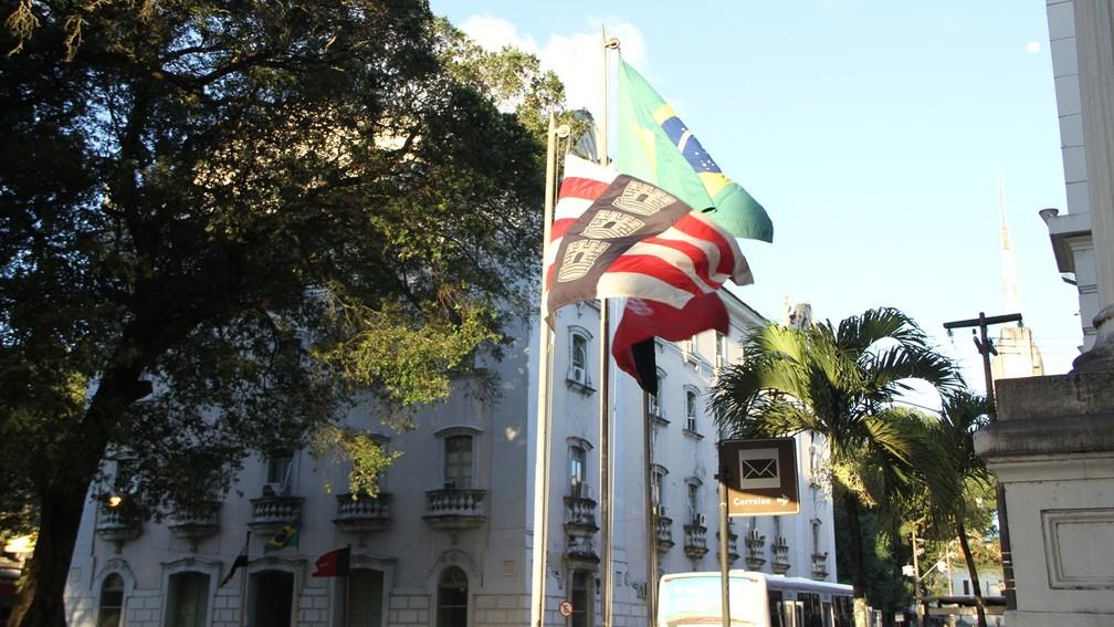 e760d1259 ... Atual bandeira de João Pessoa foi criada há 45 anos por monges  beneditinos da Bahia —