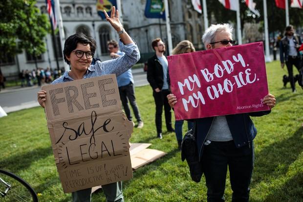 Na Irlanda, a descriminalização do aborto foi aprovada no mês passado (Foto:  Jack Taylor/Getty Images)