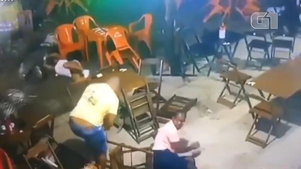 PM da reserva foi morto a tiros após confusão em bar, em Salvador — Foto: Arquivo pessoal