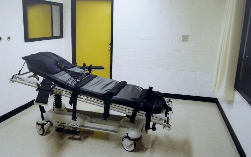 Execuções em nível federal são raras nos EUA. Desde a restauração da pena de morte em 1988, o governo federal executou apenas três condenados — Foto: Erik S. Lesser/Getty Images North America/AFP