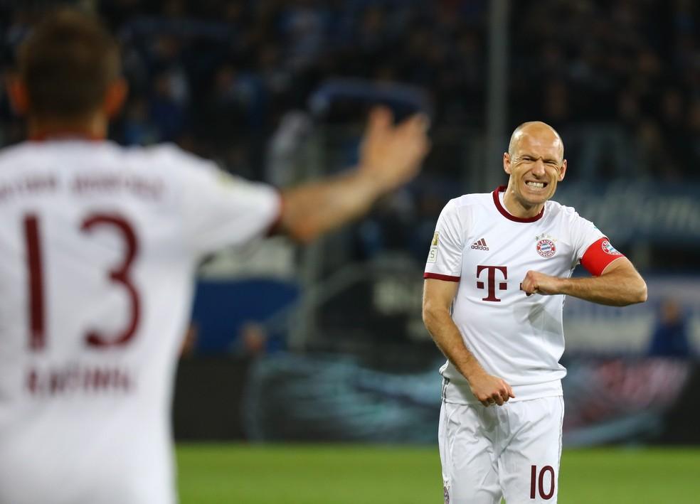 Robben enfrentou drama quando tinha 20 anos (Foto: Reuters)