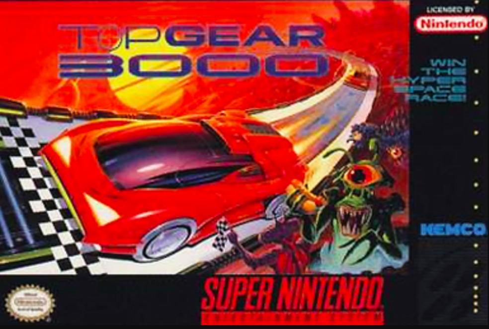 Top Gear 3000 levava o jogo para o futuro — Foto: Reprodução/Felipe Vinha