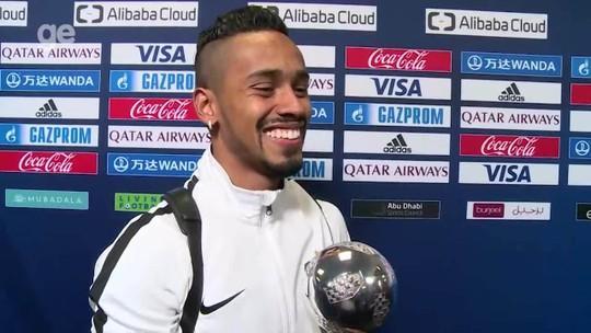 Caio Lucas guarda lugar especial para Bola de Prata do Mundial, mas antes quer fazer exposição