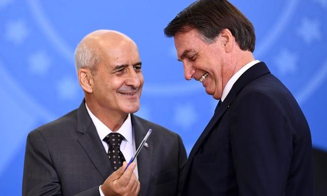 General Ramos faz elogios ao presidente Jair Bolsonaro