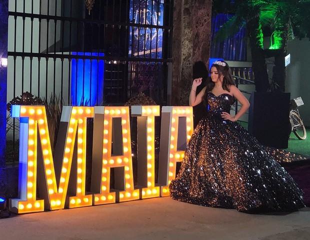 Mel Maia celebra 15 anos (Foto: Reprodução/Instagram)