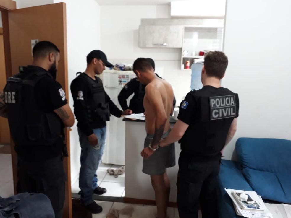 Operação Captare deve cumprir 52 ordens judiciais em Mato Grosso e Mato Grosso do Sul — Foto: Polícia Civil de Mato Grosso/Assessoria