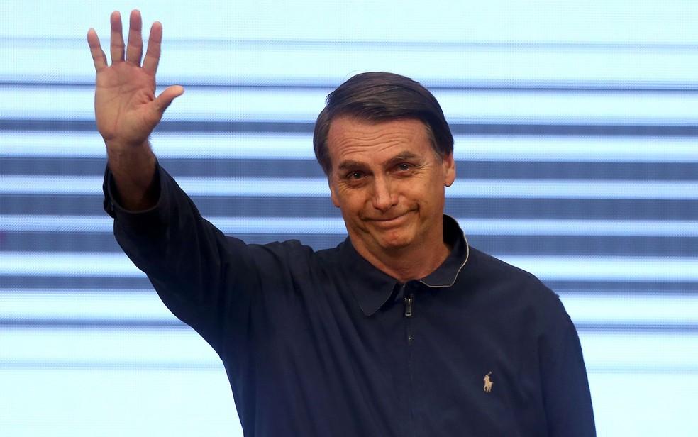 O presidente eleito, Jair Bolsonaro — Foto: Wilton Junior/Estadão Conteúdo