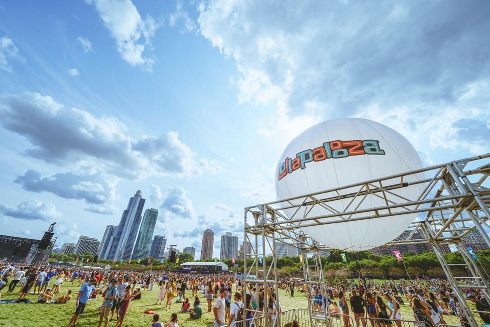 Lollapalooza Chicago na edição de 2017 (Foto: Divulgação/Roger Ho)
