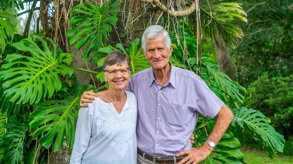 O holandês Joop Stoltenborg é um dos pioneiros da agricultura orgânica no Brasil  (Foto: Sítio A Boa Terra)