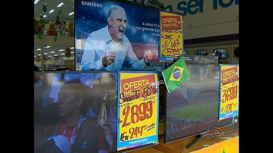 Copa do Mundo e desligamento do sinal analógico aumentam vendas de TVs