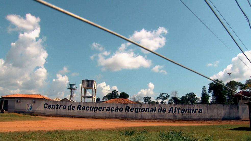 Centro de Recuperação Regional de Altamira — Foto: Reprodução: TV Globo
