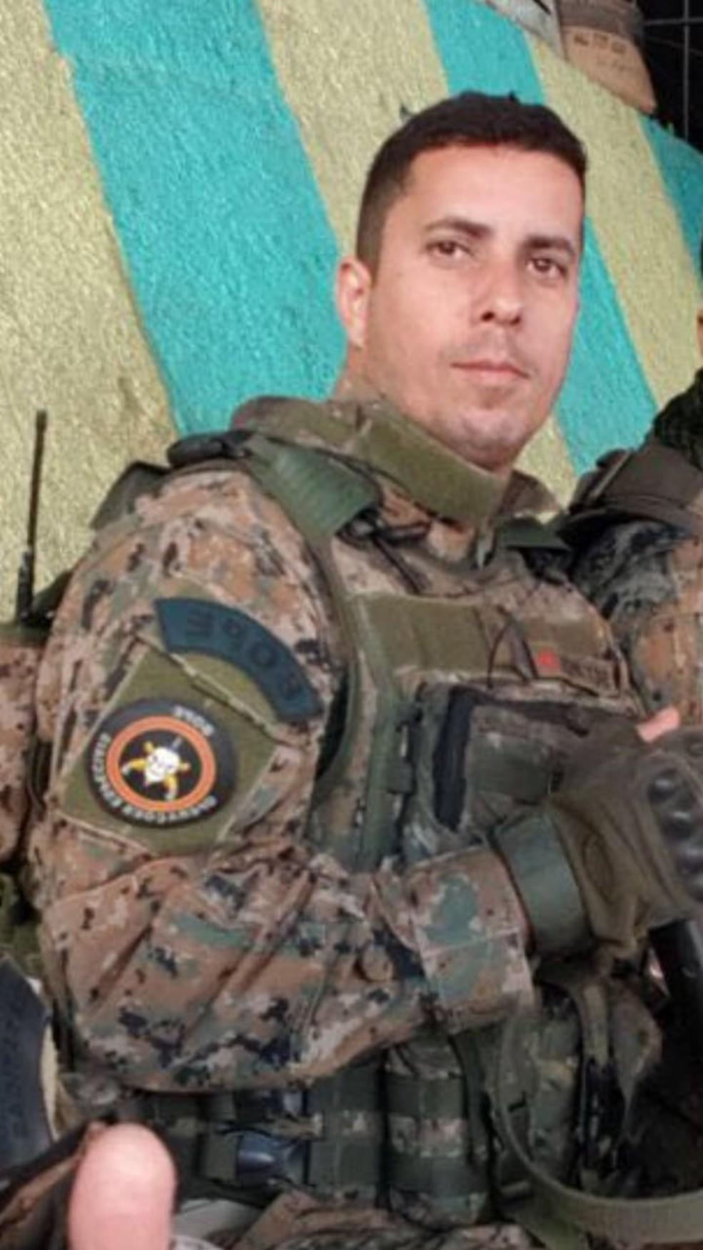 Sargento do Bope é morto na Zona Oeste do Rio (Foto: Divulgação)