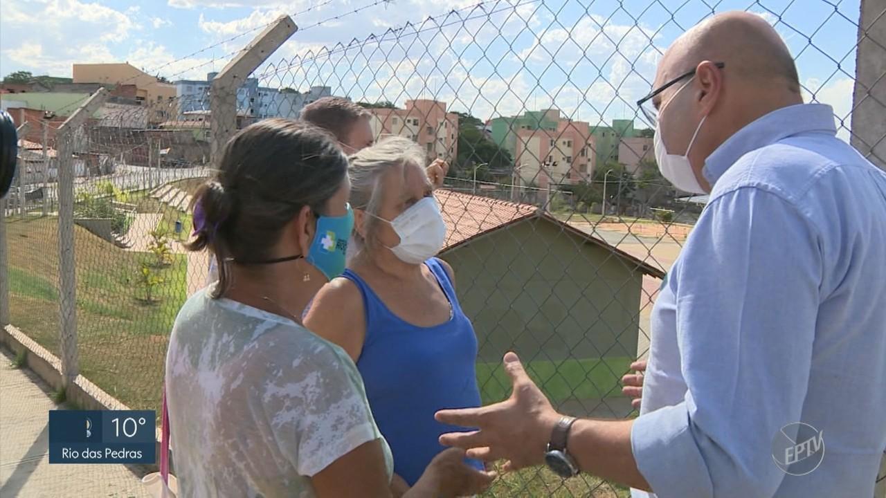 Candidatos a prefeito de Campinas fazem panfletagem, reuniões e gravação nesta terça