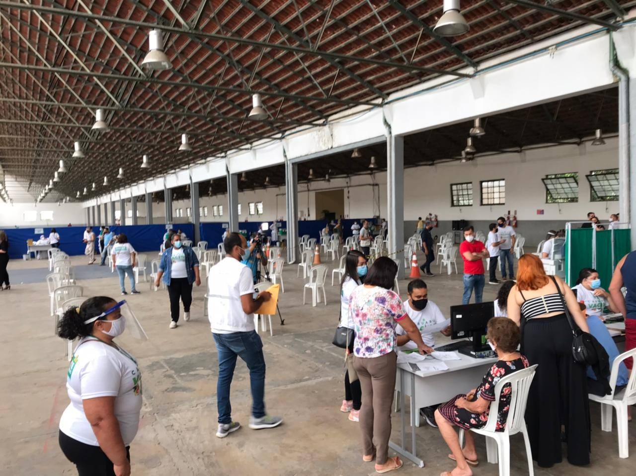 Covid-19: Espaço Cultural volta a centralizar vacinação em Caruaru