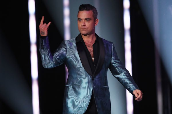 O músico Robbie Williams (Foto: Getty Images)