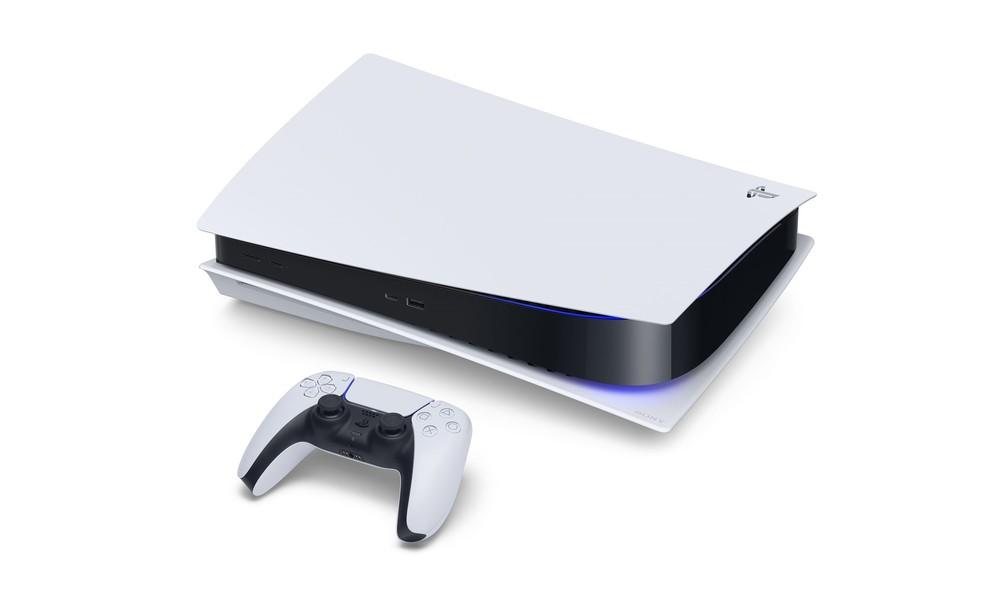 Assim como os rivais, PS5 pode ser instalado na horizontal e na vertical — Foto: Divulgação/Sony