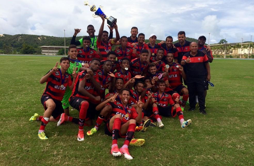 Com 100% de aproveitamento, Vitória é campeão da Supercopa Natal Sub-17 (Foto: Diego Simonetti)