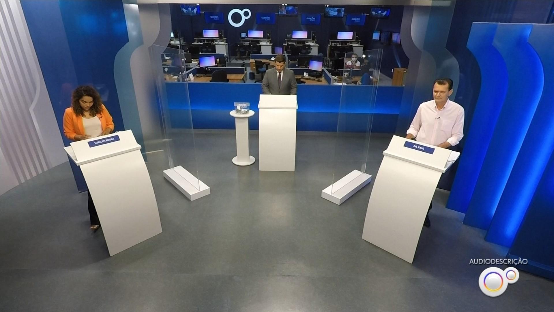 Veja como foi o debate da TV TEM com os candidatos à prefeitura de Bauru