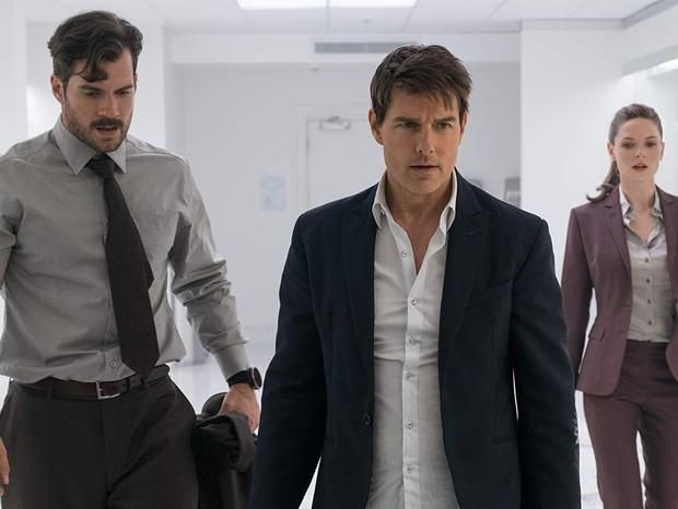 Tom Cruise, Rebecca Ferguson e Henry Cavill em Missão Impossível - Efeito Fallout (Foto: Divulgação/Paramount Pictures)