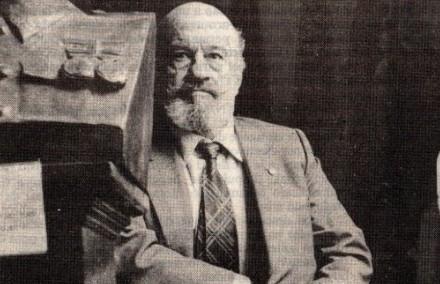 Joseba Elósegi em imagem de 1984, quando já era senador