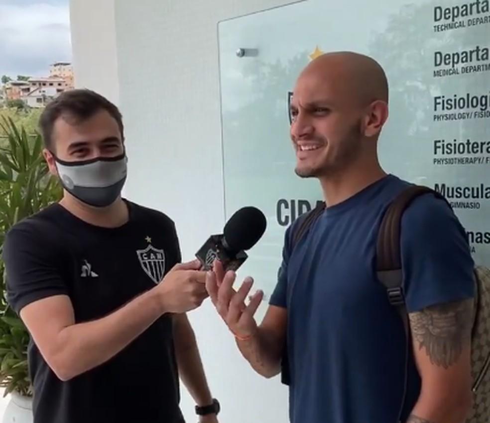 Rumo ao Timão, Fábio Santos se despede do Atlético-MG para assinar até fim de 2021