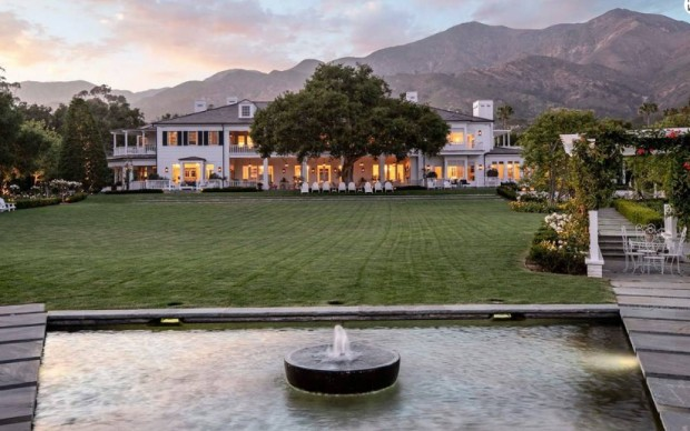 Mansão de Rob Lowe custa nada menos que R$ 184 milhões (Foto: Divulgação)