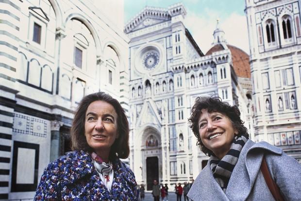 Laudomia Pucci e Olga Polizzi  (Foto: Divulgação)