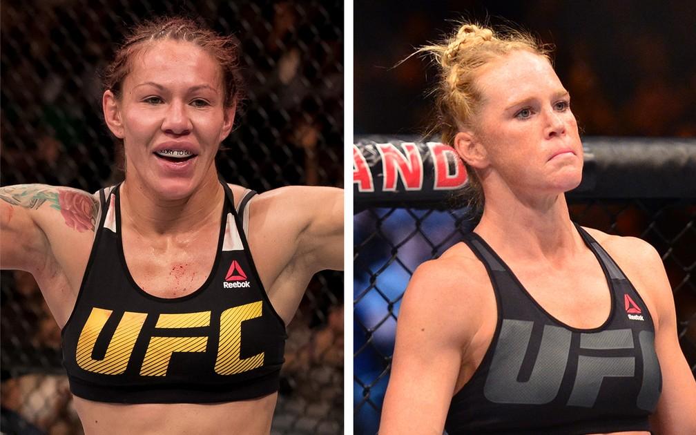Cris Cyborg x Holly Holm será a luta principal do UFC 219, em Las Vegas (Foto: Combate.com)