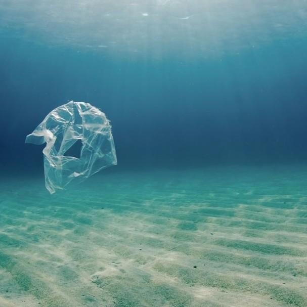 Lixo nos oceanos (Foto: Instagram/Reprodução)
